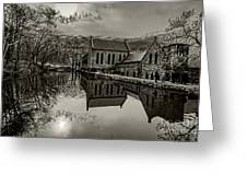 Byrd Park Pumphouse 3711t_s2 Greeting Card