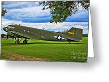 C-47 Special Delivery Greeting Card