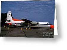 C-7, Netherlands Air Force, Rnaf, Nederlandse  Greeting Card