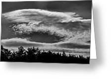 C Clouds Greeting Card