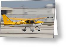 C-fgql Aircraft Greeting Card