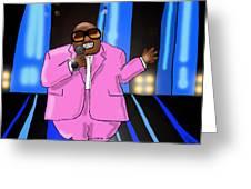 C-lo Pink Greeting Card