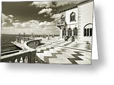 Ca D'zan Mansion Greeting Card
