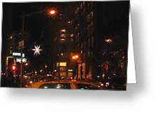 Cab New York Greeting Card