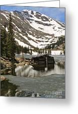 Cabin At Chinns Lake Greeting Card