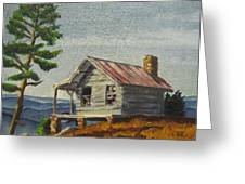 Cabin Greeting Card