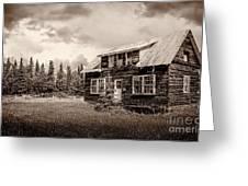 Cabin In Kenai Greeting Card