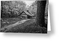 Cabin In The Cove Greeting Card