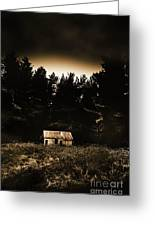 Cabin In The Woodlands  Greeting Card