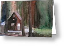 Cabin In The Woods 08 Greeting Card