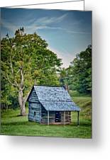 Cabin On The Blue Ridge Parkway - 10 Greeting Card