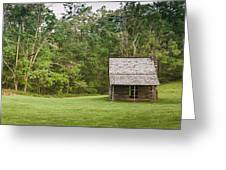 Cabin On The Blue Ridge Parkway - 6 Greeting Card