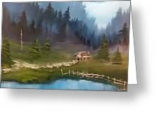 Cabin Retreat Greeting Card
