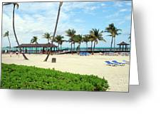 Cable Beach Greeting Card