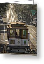 Cable Car Number 6 Greeting Card