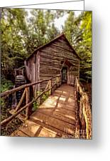 Cable Grist Mill Greeting Card
