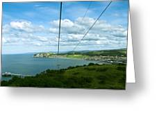 Cable Lift Greeting Card
