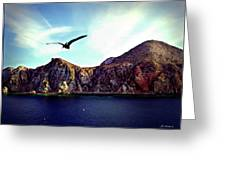 Cabo And The Cliffs Greeting Card