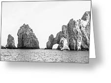 Cabo Arch  Greeting Card
