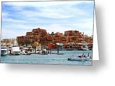 Cabo San Lucas Marina Greeting Card