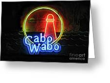Cabo Wabo Greeting Card