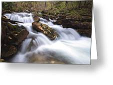 Cabot Head Waterfall Greeting Card