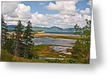 Cabot Trail In Nova Scotia Greeting Card