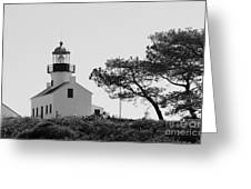 Cabrillo Lighthouse 3 Greeting Card