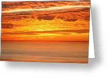 Cabrillo Sunset Greeting Card
