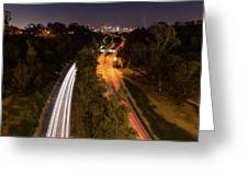 Cabrillo To Downtown Greeting Card