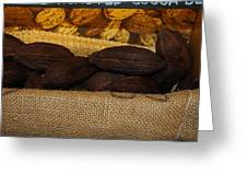 Cacao Pods Greeting Card