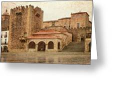Caceres Spain Greeting Card