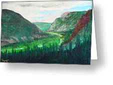 Cache Le Pudre Valley Greeting Card