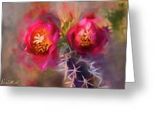 Cactus Flower 07-003 Greeting Card
