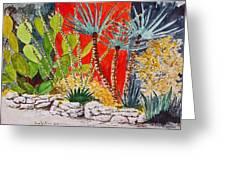 Cactus Garden  Greeting Card