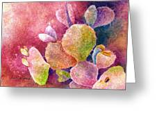Cactus Heart Greeting Card
