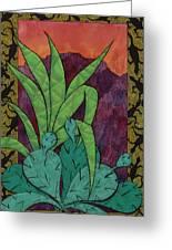 Cactus Lizards Greeting Card