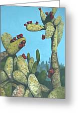 Cactus On Vicky Greeting Card