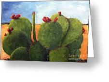 Cactus Pears Greeting Card