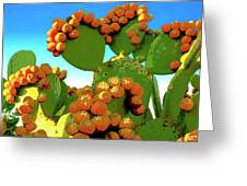 Cactus Pears Greeting Card