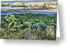 Cactus Rabbit Greeting Card