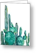Cactus Watercolor 1 Greeting Card