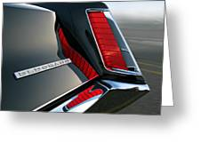 Caddy Taillight Greeting Card