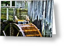Cades Cove Mill No 3 Greeting Card