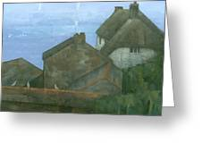 Cadgwith Rooftops Greeting Card