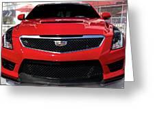 Cadillac Ats V-series Greeting Card