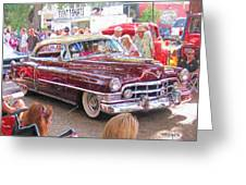 Cadillac Coupe Deville Greeting Card
