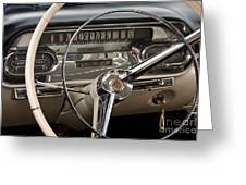 Cadillac Dash Greeting Card