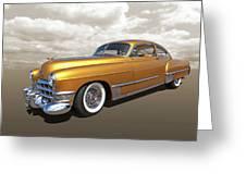 Cadillac Sedanette 1949 Greeting Card