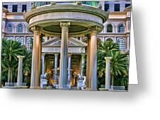 Caesar Columns Greeting Card